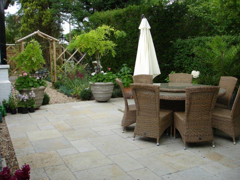 thinking about a new patio some tips from a patio designer On garden patio area ideas