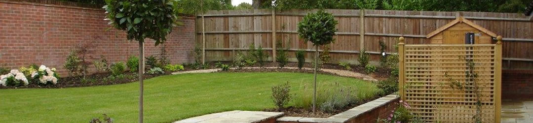 Garden Design Rectangular Plot how to cope with wide shallow gardens - alda landscapes